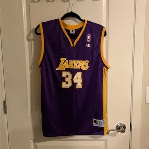 Vintage Lakers NBA Jersey